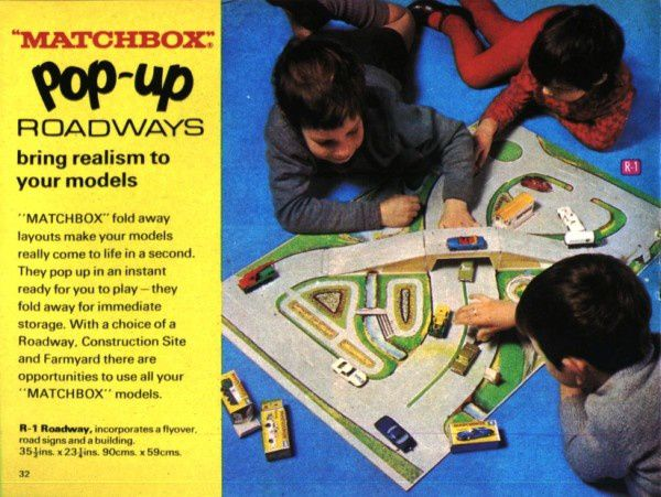 catalogue matchbox 1970 p32 pop up matchbox