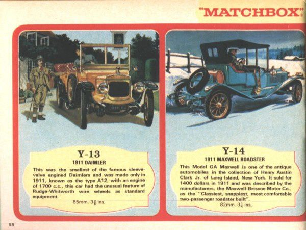catalogue matchbox 1970 p58