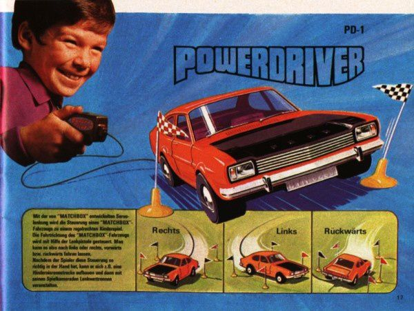 catalogue matchbox 1972-1973 p17 powerdriver