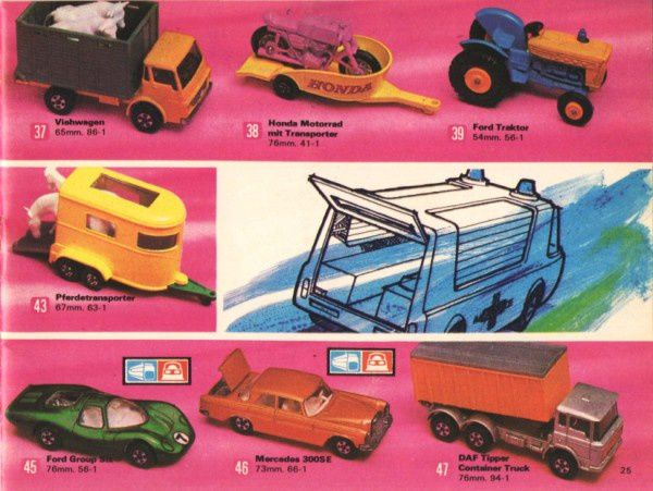 catalogue matchbox 1972-1973 p25