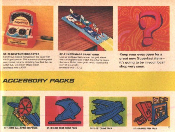 catalogue matchbox 1970 p13 accessory pack