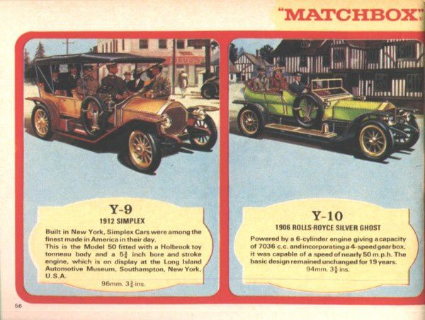 catalogue matchbox 1970 p56