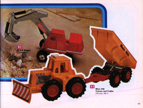 catalogue matchbox 1972-1973 p43 muir hill traktor