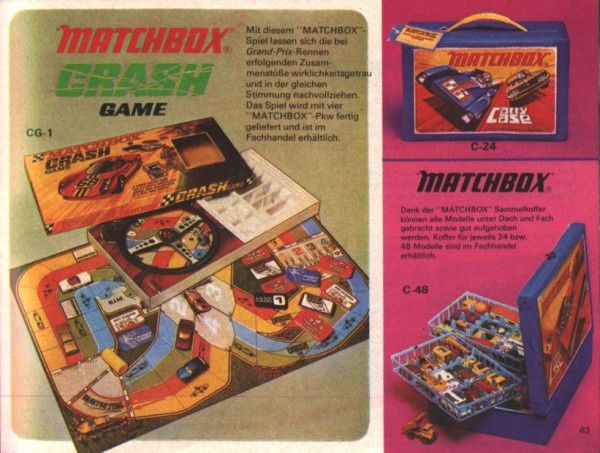 catalogue matchbox 1972-1973 p63