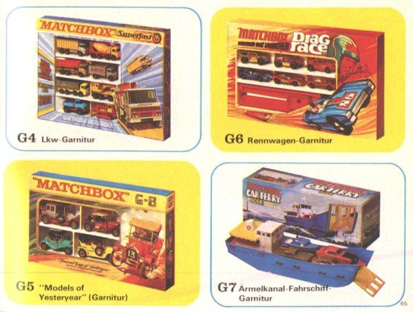 catalogue matchbox 1972-1973 p65