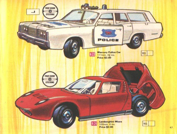 catalogue matchbox 1970 p47