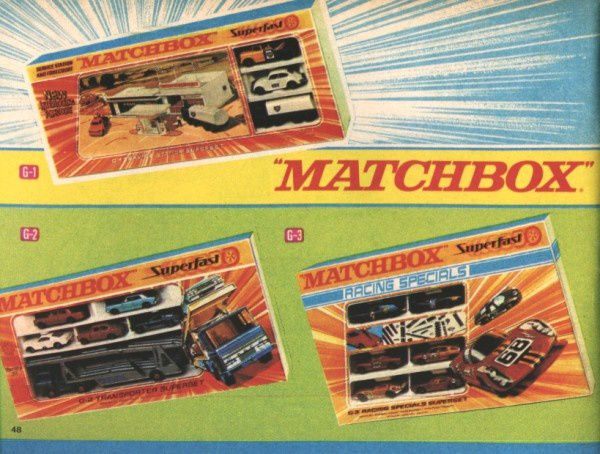 catalogue matchbox 1970 p48