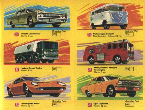 catalogue matchbox 1970 p23 catalog matchbox usa