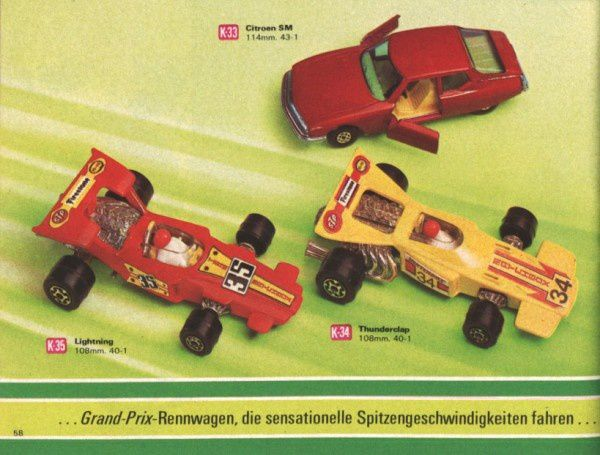 catalogue matchbox 1972-1973 p58 sm lightning thunderclap
