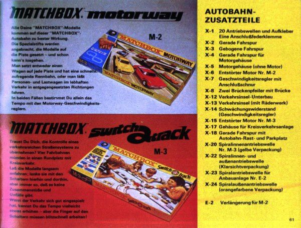 catalogue matchbox 1972-1973 p61