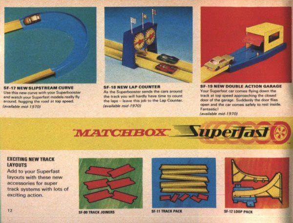 catalogue matchbox 1970 p12