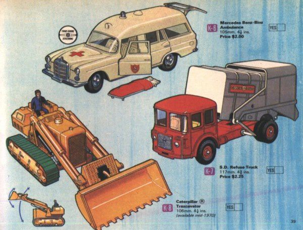 catalogue matchbox 1970 p39 usa catalog matchbox