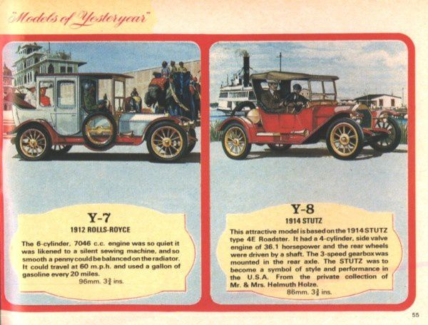 catalogue matchbox 1970 p55 stutz 1914