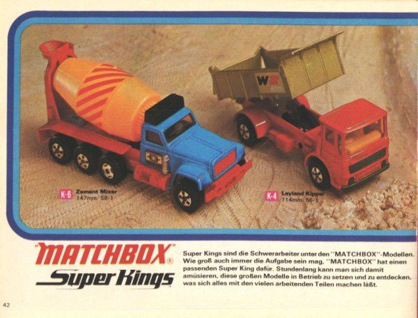 catalogue matchbox 1972-1973 p42