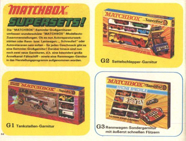 catalogue matchbox 1972-1973 p64