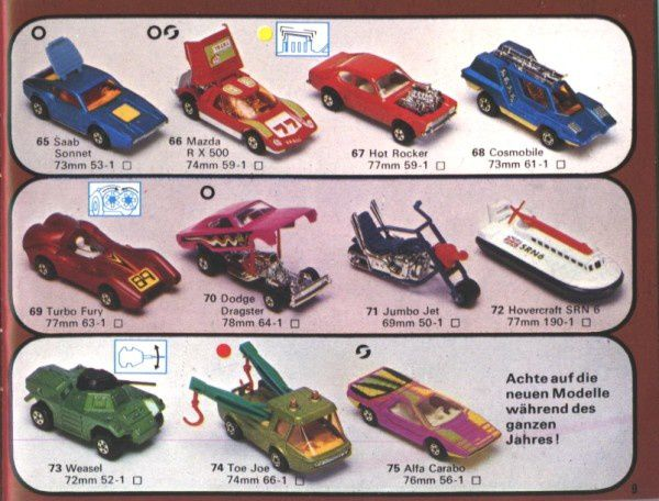 catalogue matchbox 1976 p09 cosmobile weasel