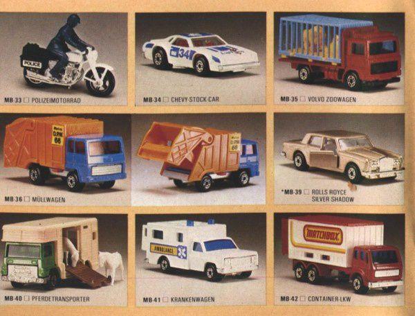 catalogue matchbox 1982-83 p12 volvo zoo