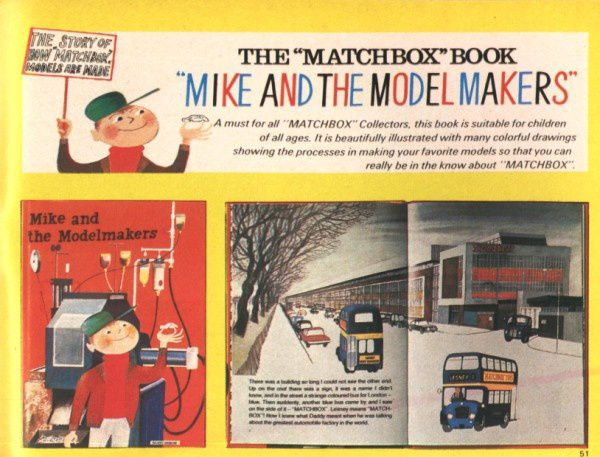 catalogue matchbox 1970 p51 matchbox book