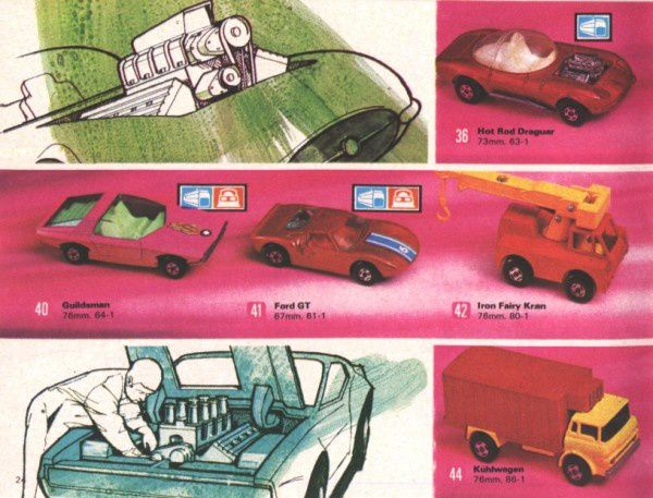 catalogue matchbox 1972-1973 p24 guildsman