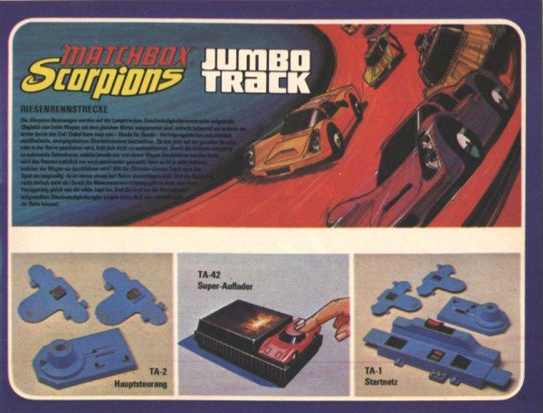 catalogue matchbox 1972-1973 p33 jumbo track