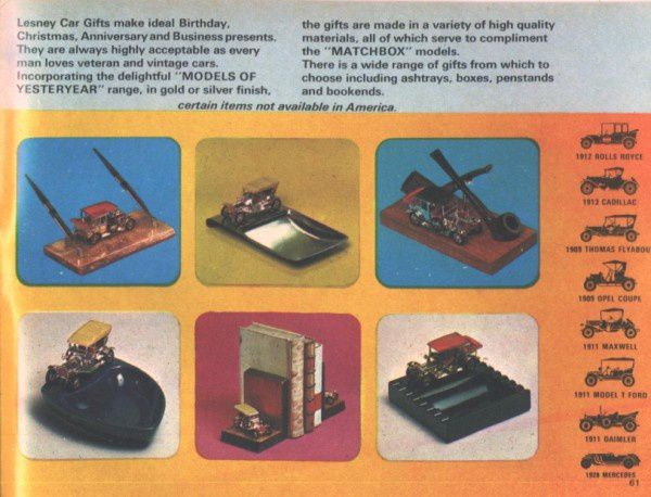 catalogue matchbox 1970 p61