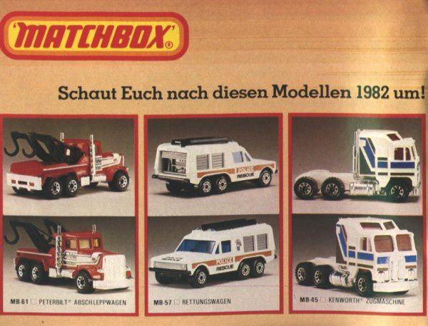 catalogue matchbox 1982-83 p04 peterbilt kenworth