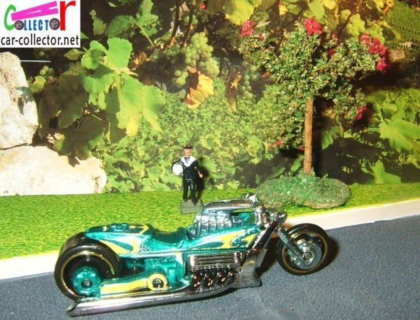 airy 8 moto modele reduit hot wheels
