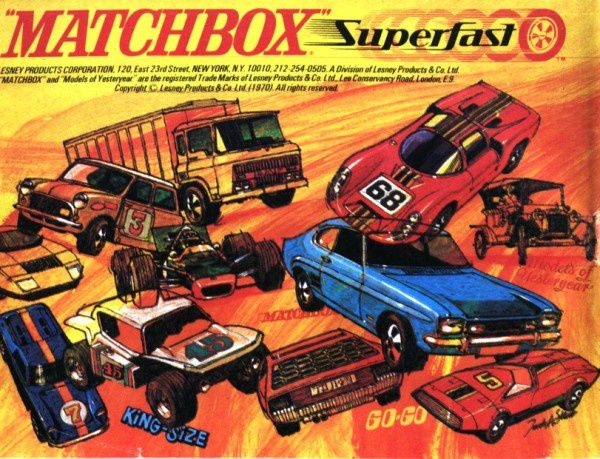 catalogue matchbox 1970 p64