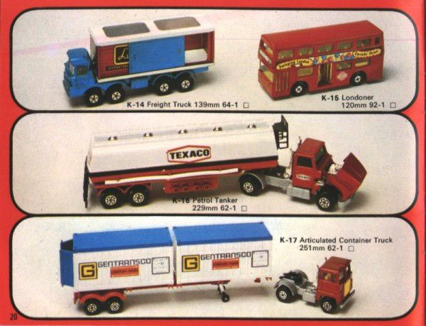 catalogue matchbox 1976 p20
