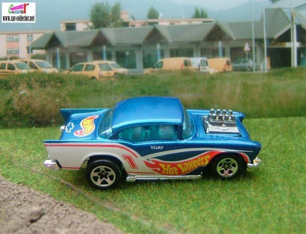 57 chevy race team series II collector 394 (2)
