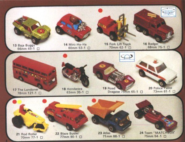 catalogue matchbox 1976 p04 mini ha ha atlas