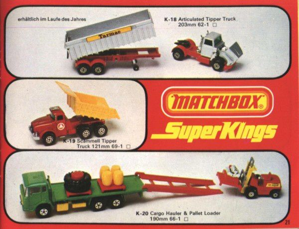 catalogue matchbox 1976 p21