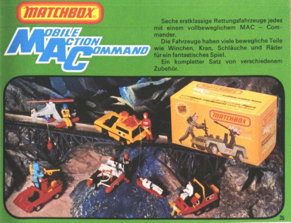 catalogue matchbox 1976 p35 mobil action command
