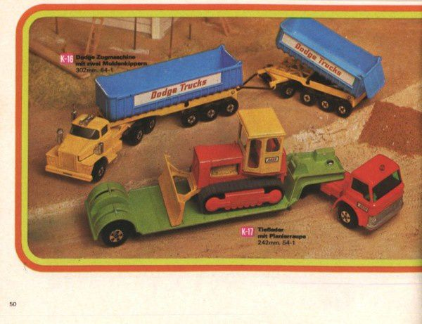 catalogue matchbox 1972-1973 p50