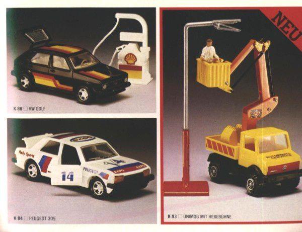 catalogue matchbox 1982-83 p51 peugeot 305 matchbox