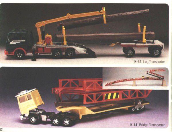 catalogue matchbox 1983 p32 bridge transporter