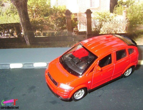 audi a2 rouge welly
