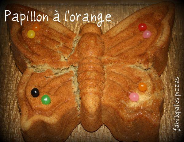 papillon à l'orange
