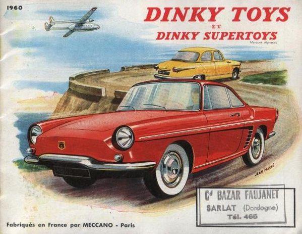 catalogue dinky toys 1960 p01 couverture floride