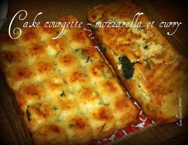cake courgette mozza curry
