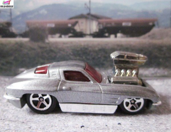 63 corvette tooned 2004.093 first editions