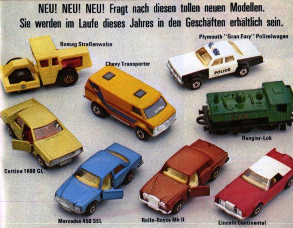 catalogue matchbox 1979.1980 p13 plymouth gran fury ford co