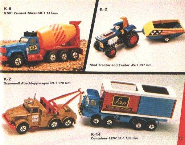 catalogue matchbox 1974-1975 p27 mod tractor