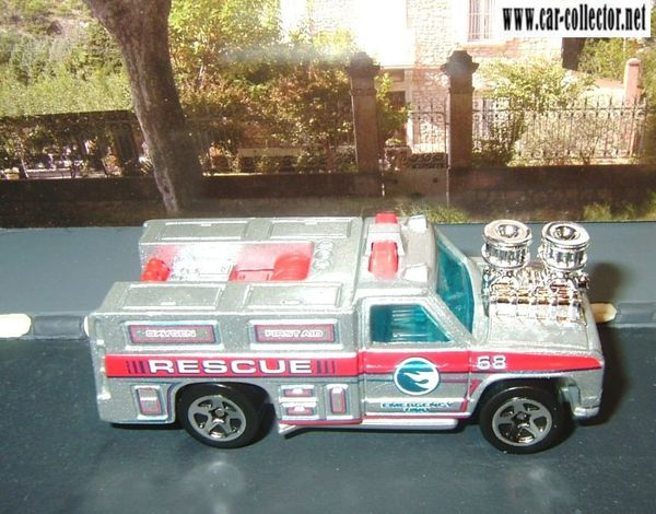 gmc rescue ranger pack 5 rescue rods 2008
