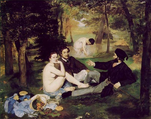 Manet -- le déjeuner sur l'herbe. Orsay