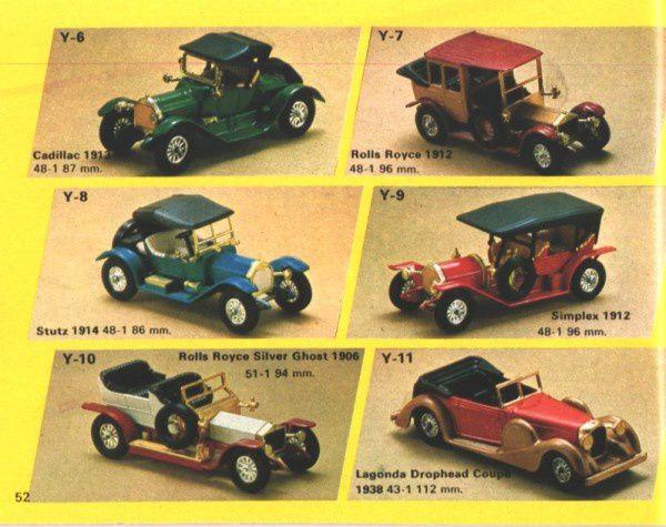 catalogue matchbox 1974-1975 p52 lagonda drophead coupe