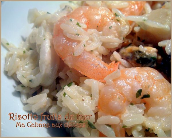 Risotto fruits de mer photo 2