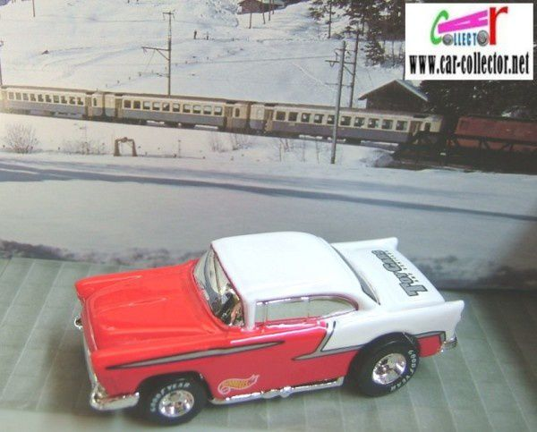 55 chevy serie toy cars magazine 1999