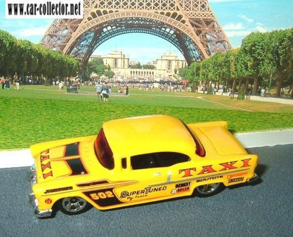 55 chevy berline bel air 2007.050 taxi series