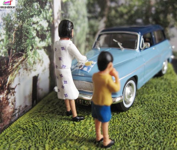 diorama simca p60 ranch p60 break le casse croute -copie-2